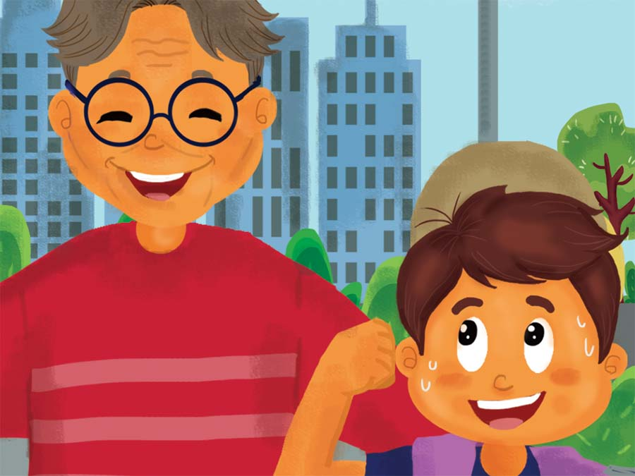 dongeng anak sehat seperti kakek